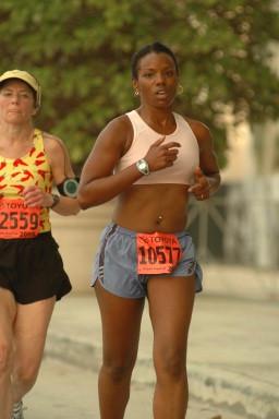 Sonia's half marathon