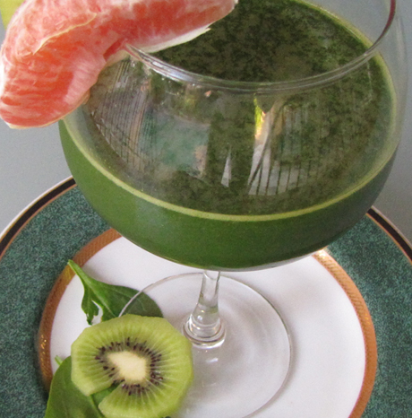 spinach kiwi orange juice