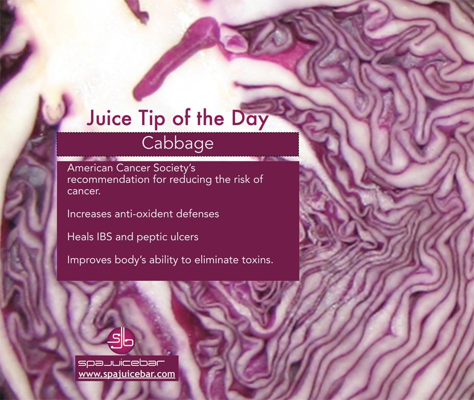 juice tip cabbage