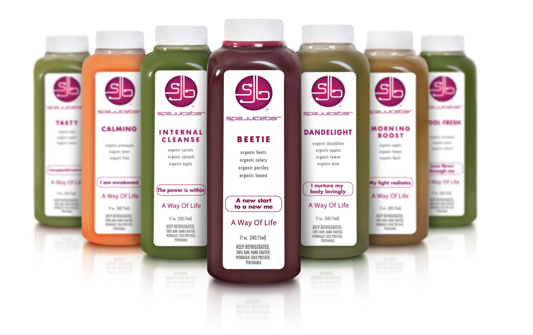 spajuicebar lifestyle juice